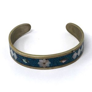 Jewelry - 🌻🌸NEW LISTING🌸🌻Vintage Mexico Inlay Cuff